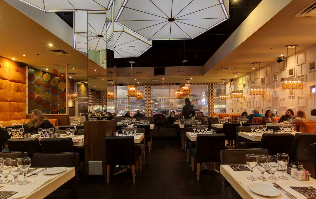 Restaurant Italien Ville St-Laurent, pizza, pâtes, moules, apportez votre vin, Montréal.